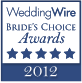 WW 2012 Brides Choice Award